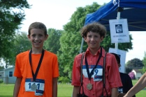 14 and Under 1st and 2nd Pl